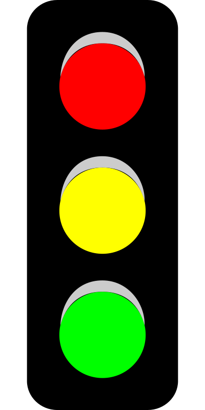Traffic light clip art.
