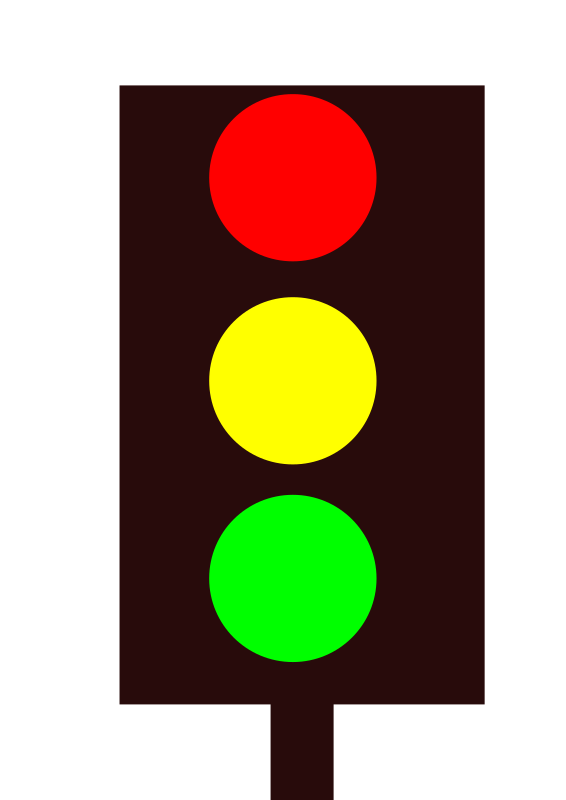 Free to share traffic light clipart.