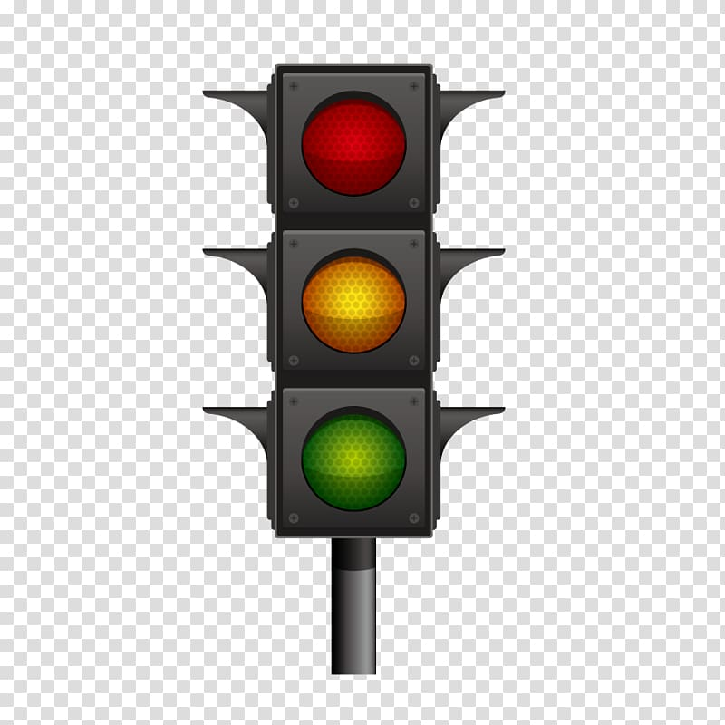 Euclidean Traffic light Illustration, traffic lights.