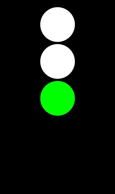 Traffic Light Green.