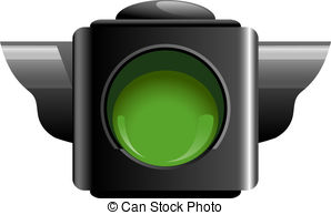 Traffic light clipart green light.
