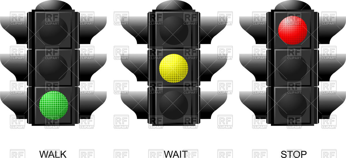 Free Clipart Traffic Light Green.