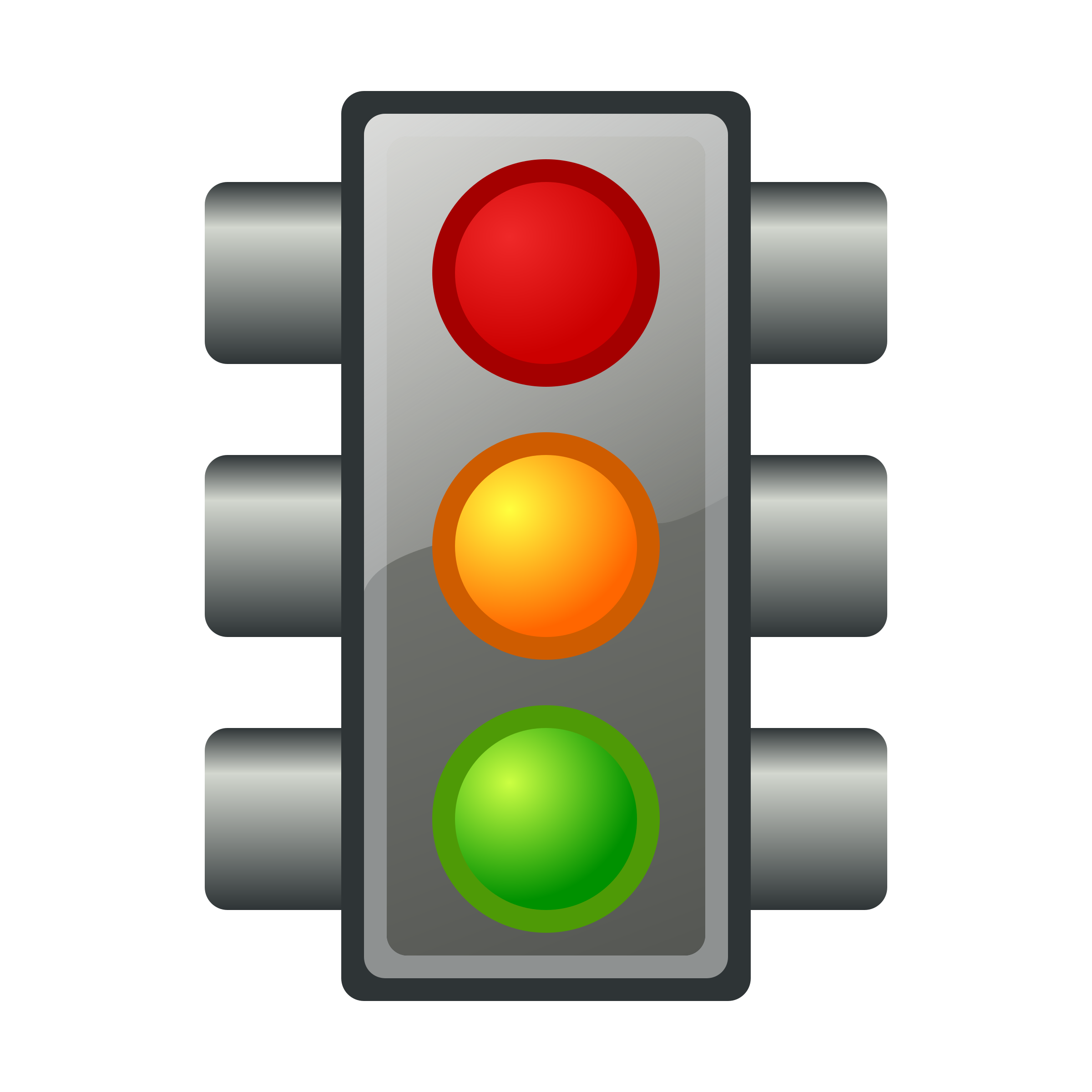 834 Traffic Light free clipart.