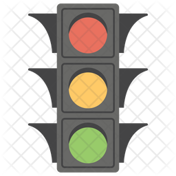 Traffic Lights Icon.
