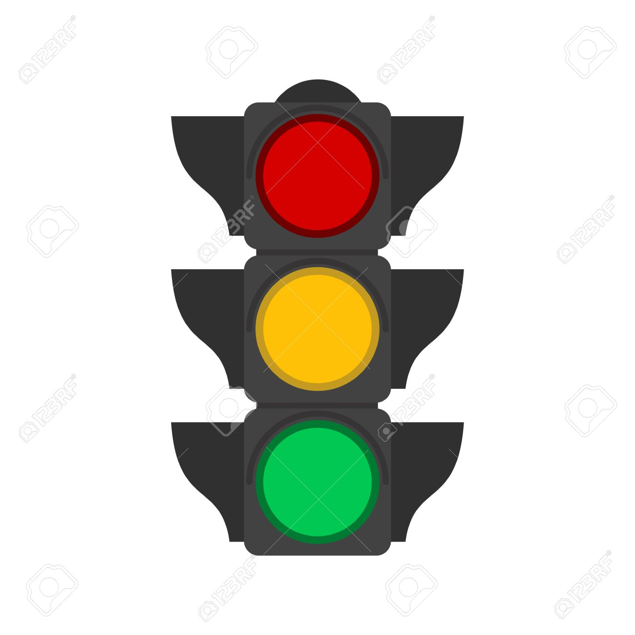 Traffic light signal clipart - Clipground for Traffic Light Yellow Icon  103wja