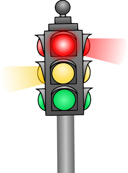 Traffic Signal Lights Clipart.