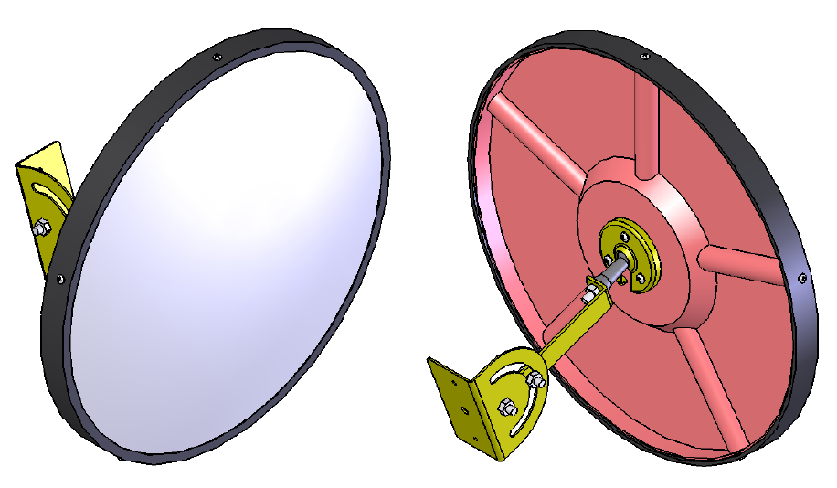 Convex mirrors :: Security & Safety.