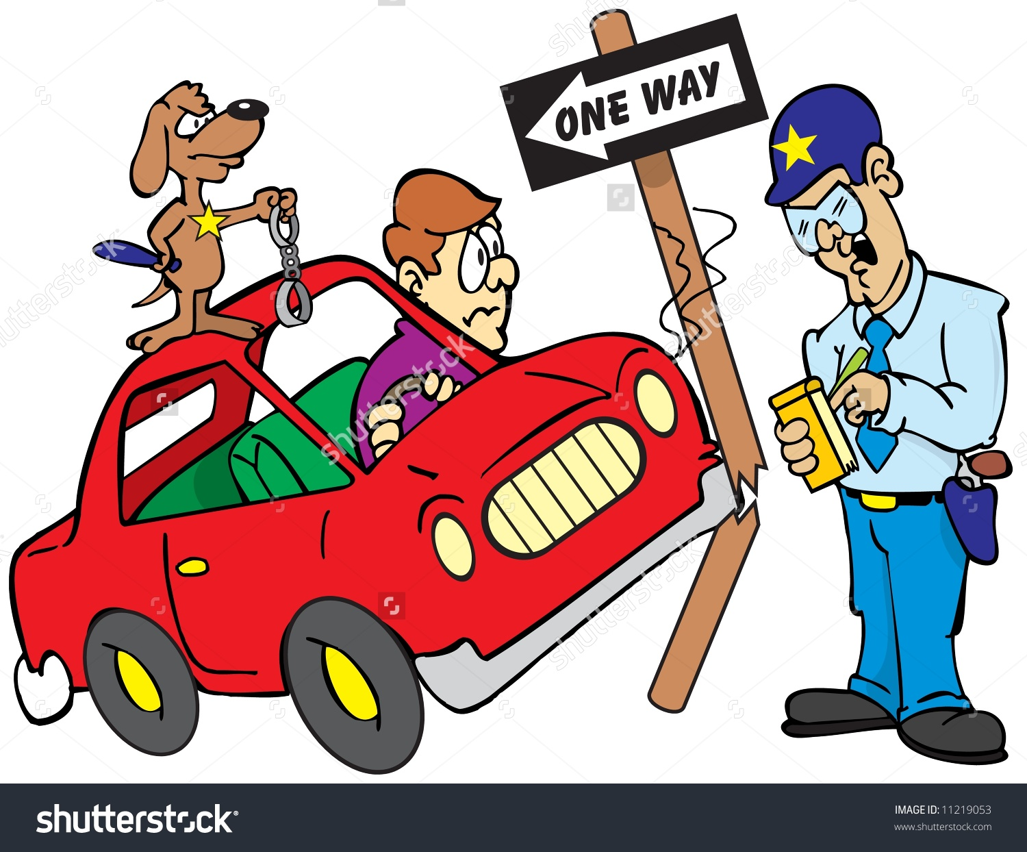 Car Accident People Clipart.