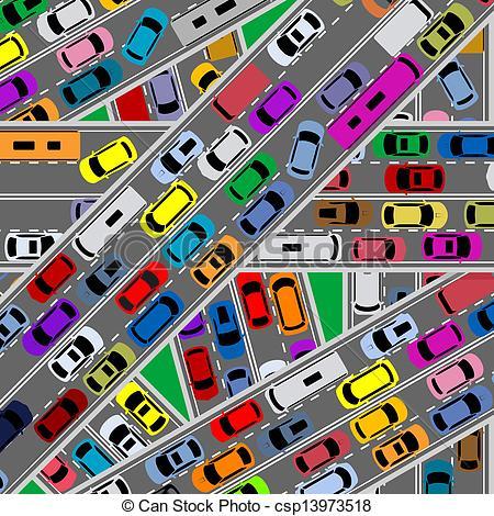 Traffic clipart.