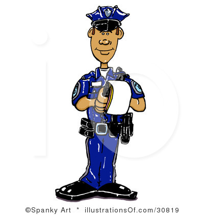 Traffic cop clipart free.