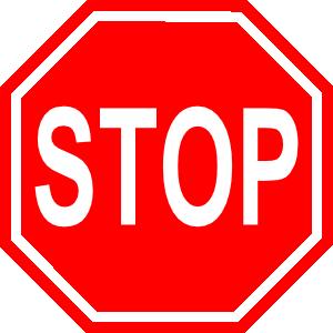 Road signs clip art.
