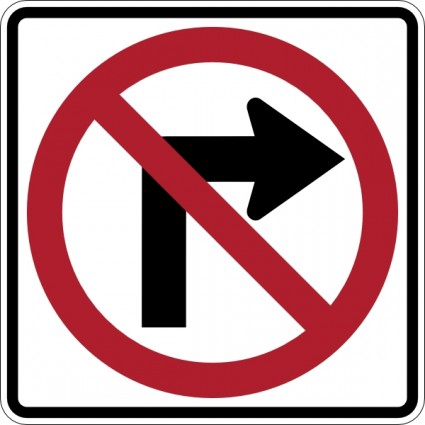 Road sign clip art free.