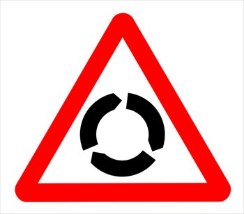 Free roundabout Clipart.
