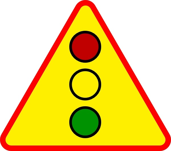 Traffic Light Sign clip art Free vector in Open office.