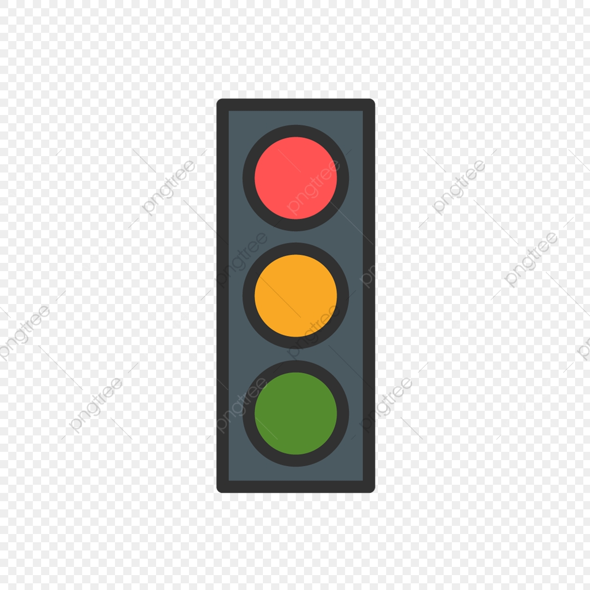 Vector Traffic Signal Icon, Signal, Traffic, Traffic Lights.