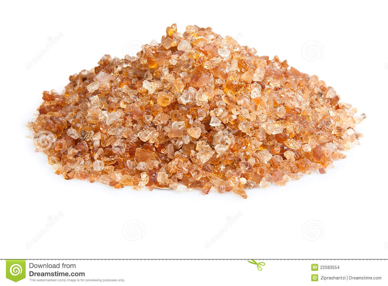 Tragacanth Or Dry Gum Stock Images.