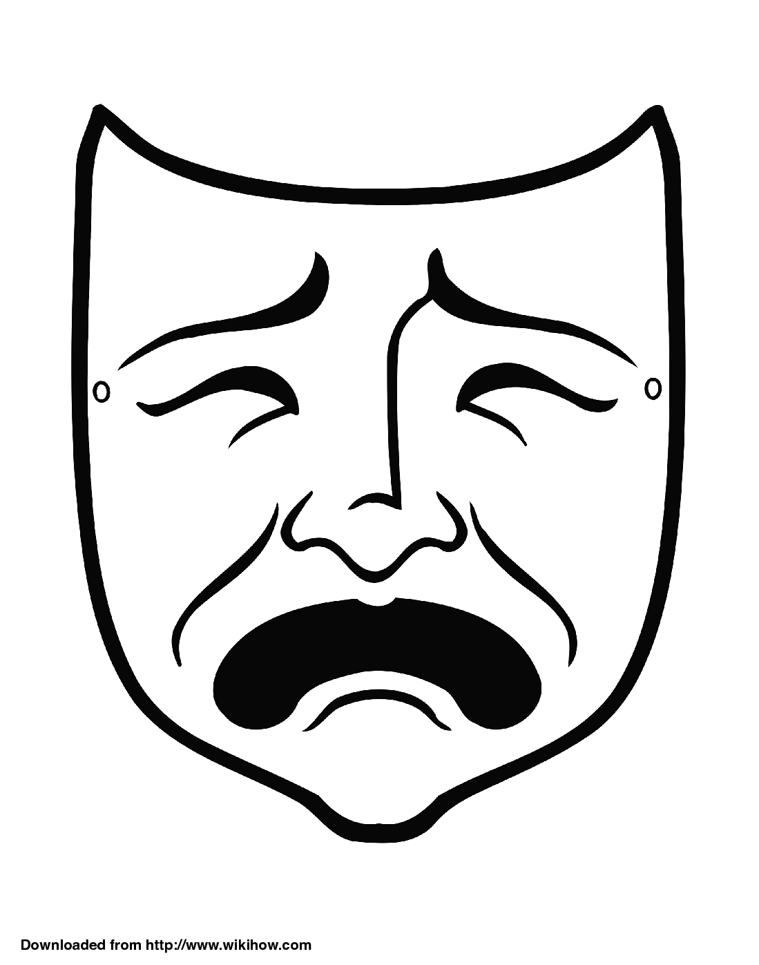 Tragedy Clipart.