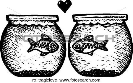 Clipart of Tragic Love ro_tragiclove.