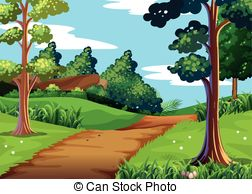 Walking trail Clipart and Stock Illustrations. 2,486 Walking trail.