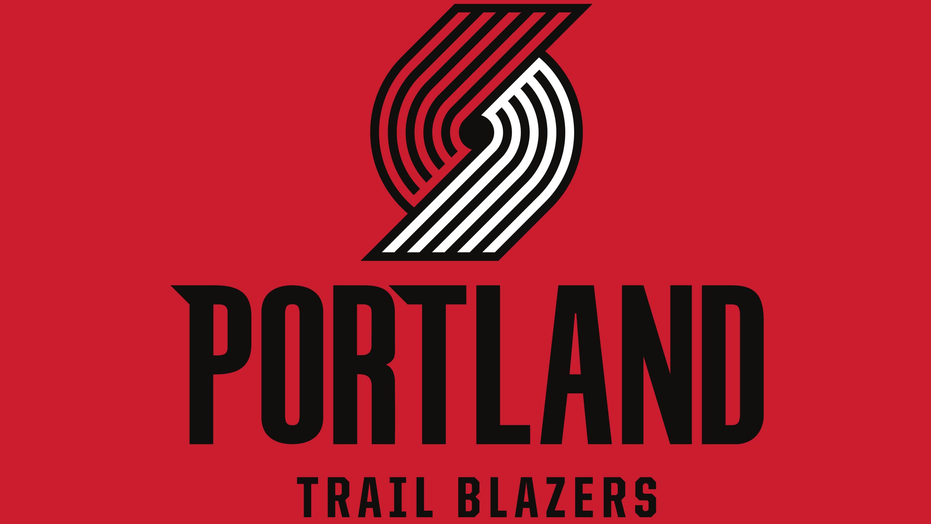 Portland Trail Blazers Logos.