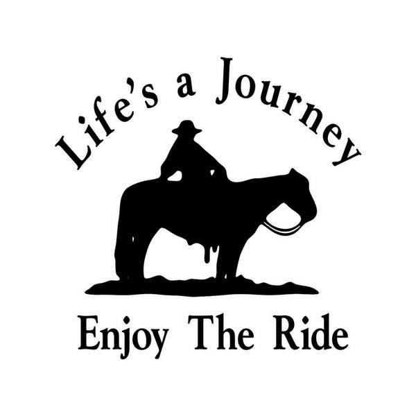 Racking Horse Clip Art Trail riding horse decal.