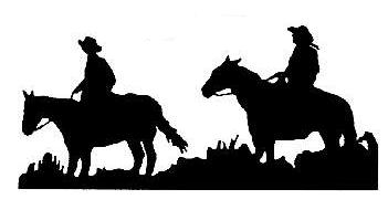 DJ Classic's Silhouette's for Western Home Decor.