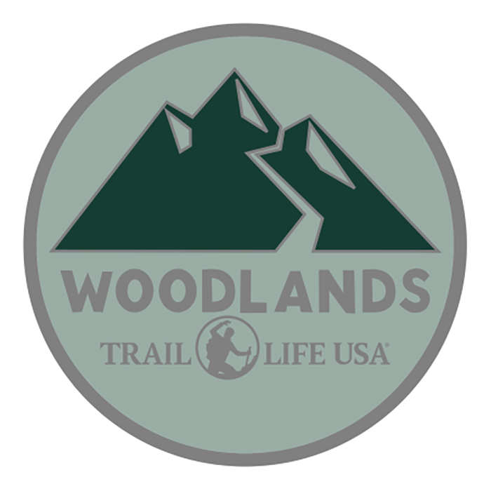 Woodlands Trail Challenge Coin.