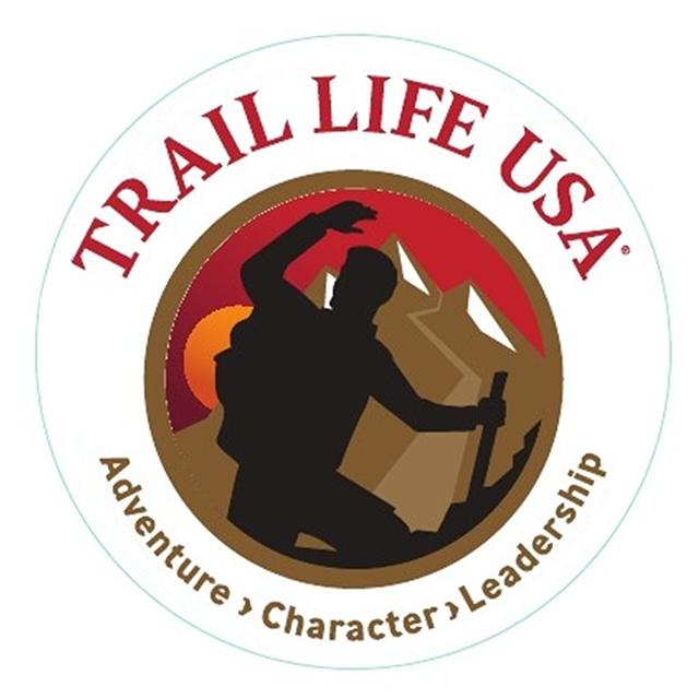 Trail Life USA Window Cling.