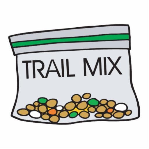 Trail Mix Clipart.