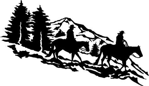 trail rider clip art.