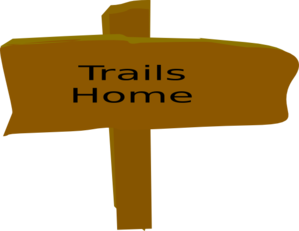 Trail Sign, From Box Canyon Trail Sign Clip Art at Clker.com.