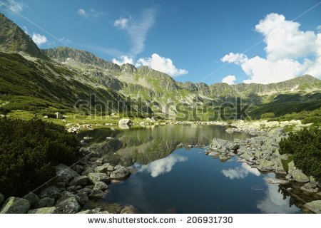 Valley Of Five Ponds Stock Photos, Royalty.