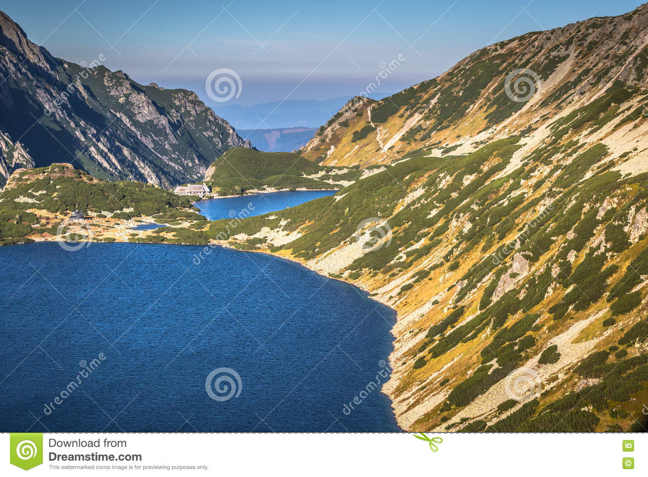 Trail to the valley of five ponds clipart #11