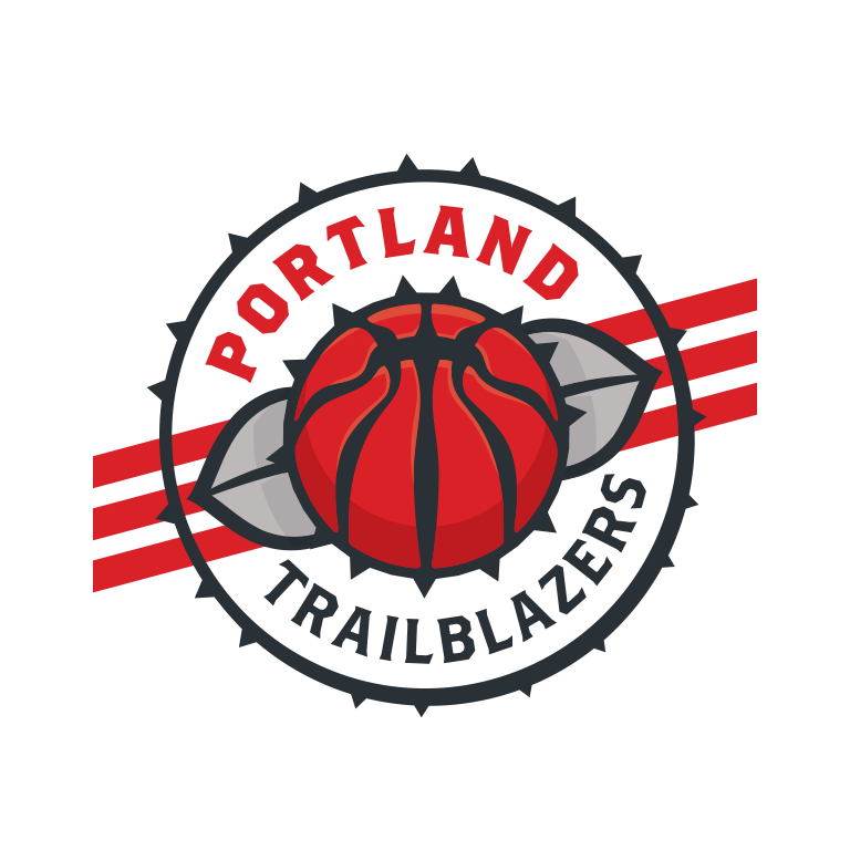 Michael Weinstein NBA Logo Redesigns: Portland Trailblazers.
