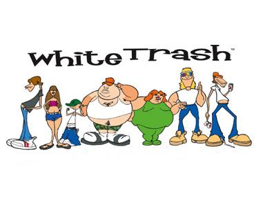 White trash clipart.
