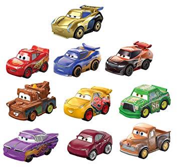 Disney Pixar Cars Mini Racers Variety 10.