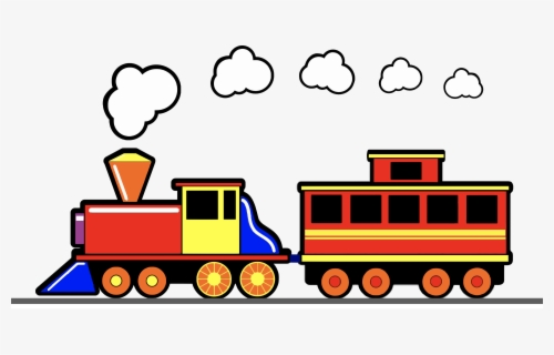 Free Trains Clip Art with No Background.