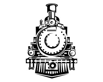 Download train vintage vector clipart Train Rail transport.