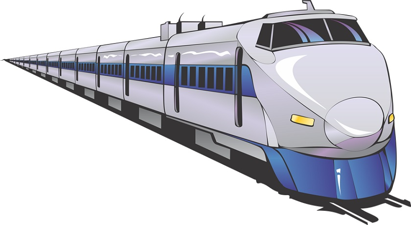 12483 Train free clipart.
