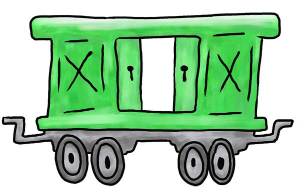 Showing post & media for Cartoon train car clip art.