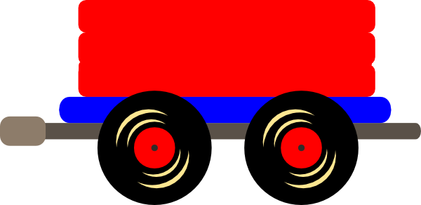 Loco Train Car Clipart.