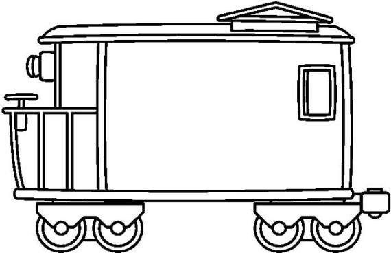 Watch more like Caboose Clip Art Black And White.