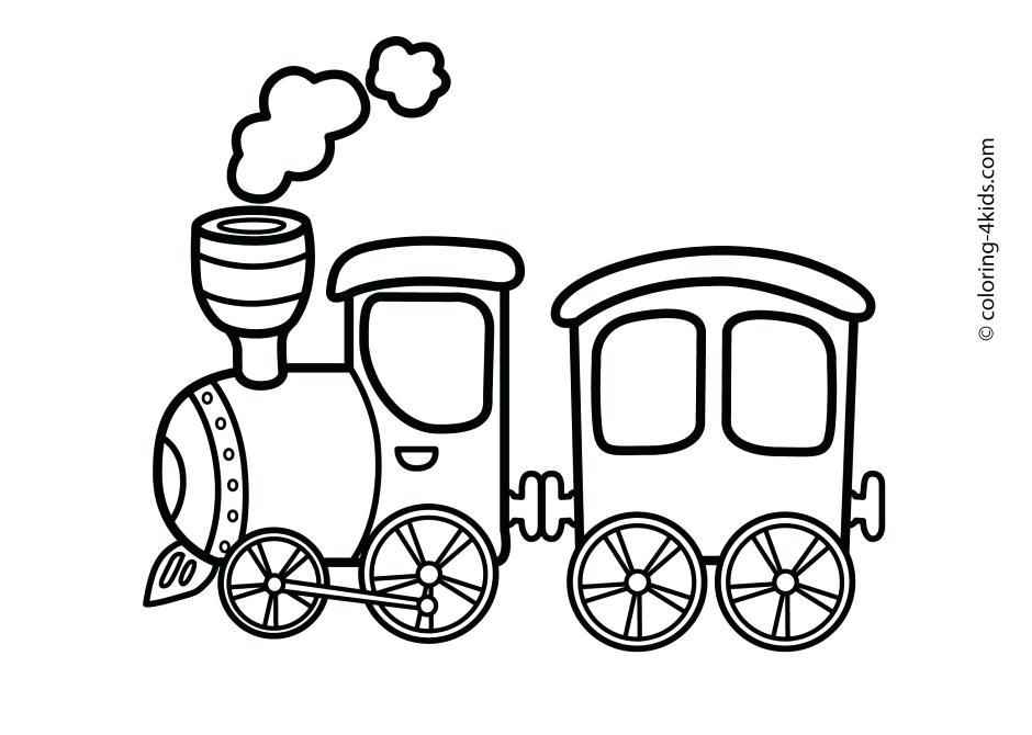Train Clipart Toy Train Train Car Clipart Black And White.