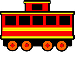Download train carriage clipart Rail transport Passenger car.