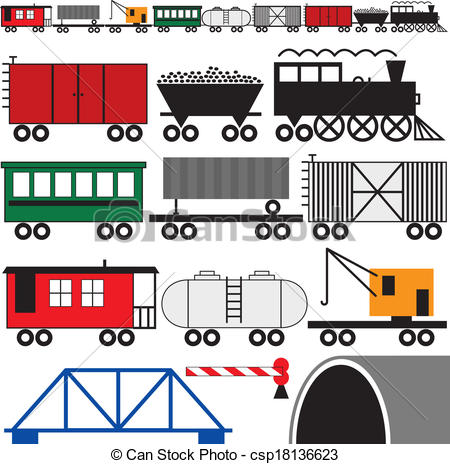 Rail cars Illustrations and Clipart. 2,277 Rail cars royalty free.