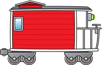 Train Cars Clipart.