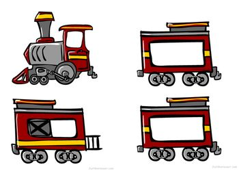 Overnight train car clipart.