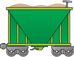 Train Cars Clipart.