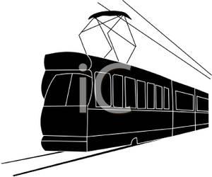 Passenger Train Car Clipart.