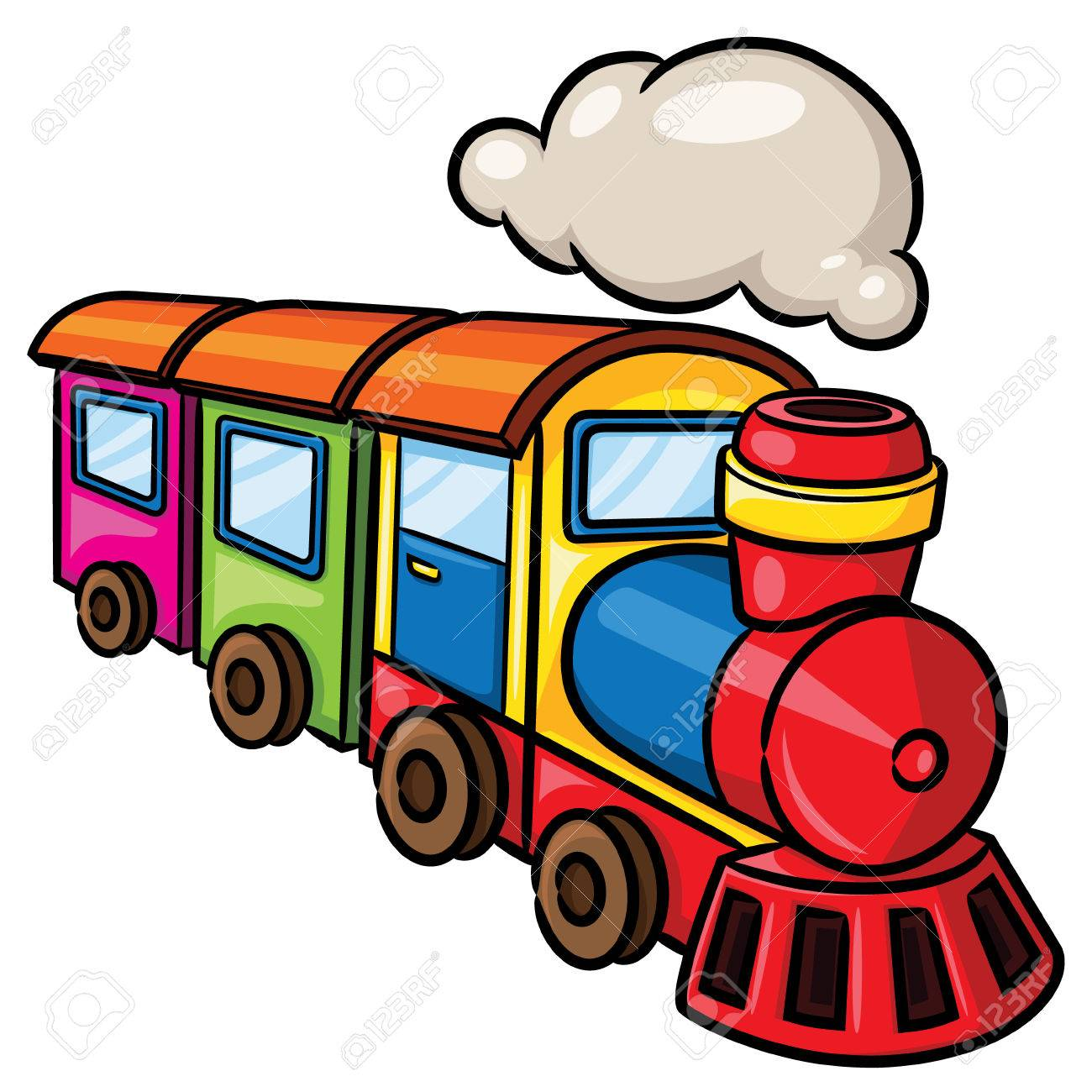Cartoon Of Train Free Download Clip Art.